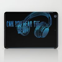 Can you hear the  beat? iPad Case