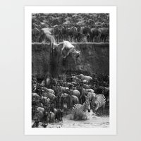 Serengeti Art Print