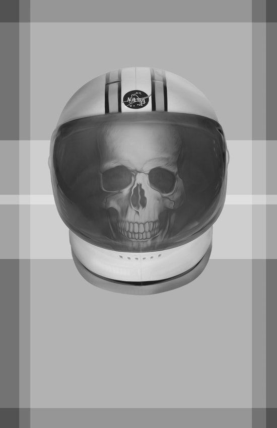 Dead Astronaut Art Print
