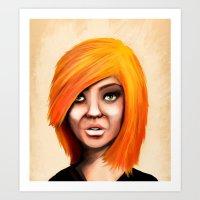 Blonde Art Print
