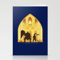 Ornstein and Smough (Dark Souls) Stationery Cards