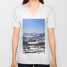 Pyramid Peak Unisex V-Neck
