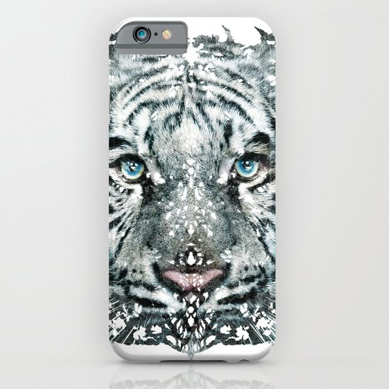 The White Tiger (Classic Version) iPhone & iPod Case