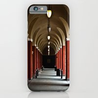 iPhone & iPod Case featuring Hallways Of The Getty  by 50one50 photography