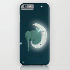 Elephant on the moon iPhone 6 Slim Case