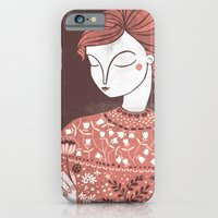 iPhone & iPod Case featuring The Botanist by Paula McGloin
