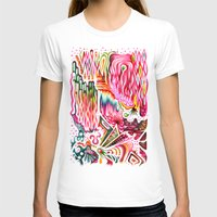 Sunk Into A Candy Cave Womens Fitted Tee White SMALL