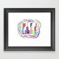 WIFI FREELOADER Framed Art Print