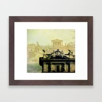 Memories from the Past Framed Art Print