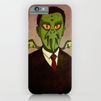 Prophets of Fiction - H.P. Lovecraft /Cthulhu iPhone 6 Slim Case