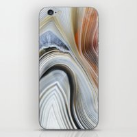 Marble Lined iPhone & iPod Skin