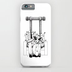 Love (one hand to caress and the other one to hurt) iPhone 6 Slim Case
