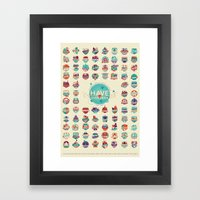 HAVE YOU EVER BEEN TO Framed Art Print