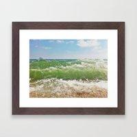Salty ~ Framed Art Print