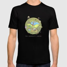 The Elephant's Garden - Version 1 Mens Fitted Tee Black SMALL