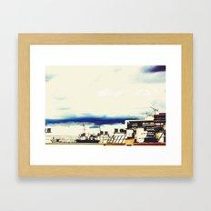 Les Toits de Paris Framed Art Print