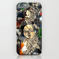 Lady in the Sand iPhone 6 Slim Case