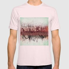 New York New York Mens Fitted Tee Light Pink SMALL