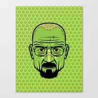 Walter White Portrait. Canvas Print