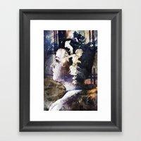 Looking Back Framed Art Print