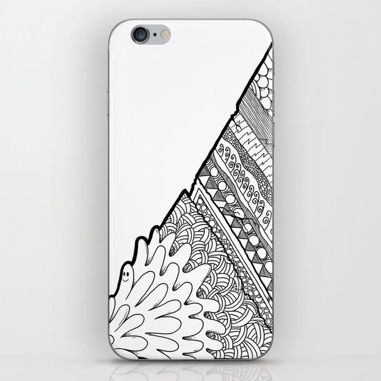 Triangle Doodle iPhone & iPod Skin