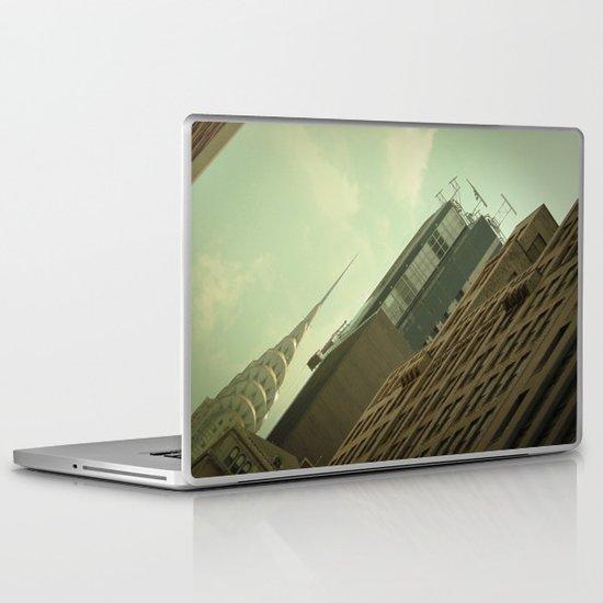 Skewed view Laptop & iPad Skin