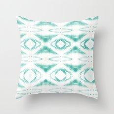 BOHEMIAN MINT PATTERN Throw Pillow