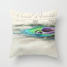 Postcard from the Edge Throw Pillow