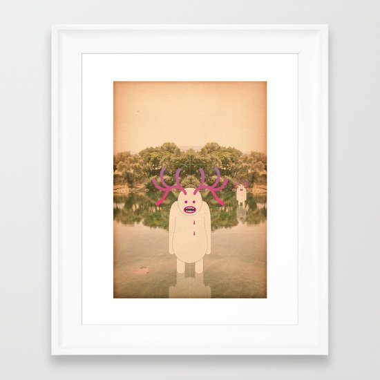 la ghetto Framed Art Print