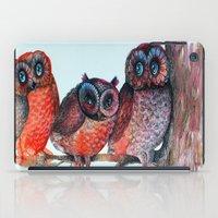 owls iPad Case