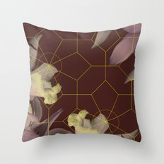 vintage orchid  Throw Pillow