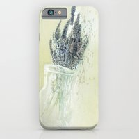 iPhone & iPod Case featuring lavender by The Last Sparrow