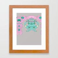ics Framed Art Print