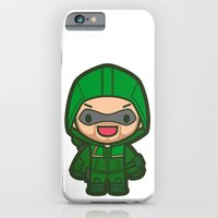 iPhone & iPod Case featuring Green Archer by Papyroo