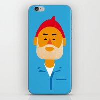 Steve Zissou iPhone & iPod Skin