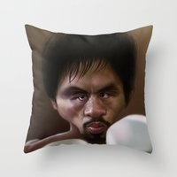 Manny 'Pacman' Pacquiao Throw Pillow