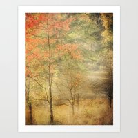 Fall Red Art Print
