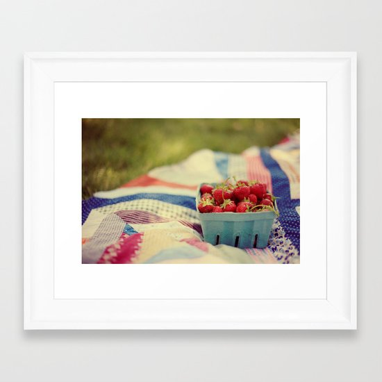 The Picnic Framed Art Print