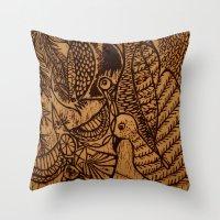 Birds (1) Throw Pillow