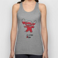 Stitch Good&bad Meter...… Unisex Tank Top