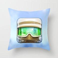 Hoth Rebel Trooper Throw Pillow