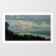 After The Storm _ Keuka … Art Print