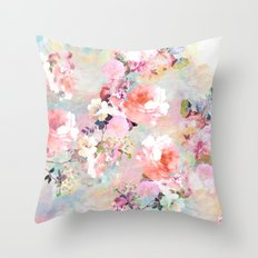 Love Of A Flower Throw Pillow
