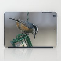 Red-breasted Nuthatch iPad Case