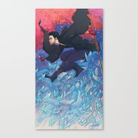 Iunii, One of the Tricksters Canvas Print