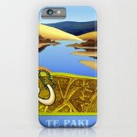 Water Meets Sand: Te Paki Stream iPhone 6 Slim Case