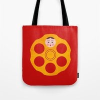 Russian Roulette Tote Bag