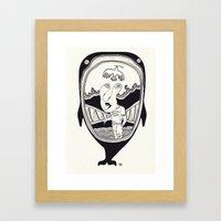 Inside The Whale Framed Art Print