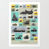 Mad World Art Print