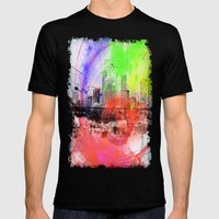 Skyline Mens Fitted Tee Black SMALL